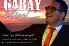Dovid Gabay Live!