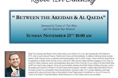 Between the Akeidah and Al Queda