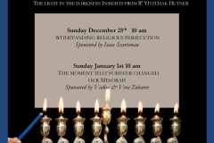 Chanukah the Light in the Darkness
