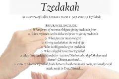 Tzedakah-Shiur