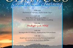 Shavuos - All night learning