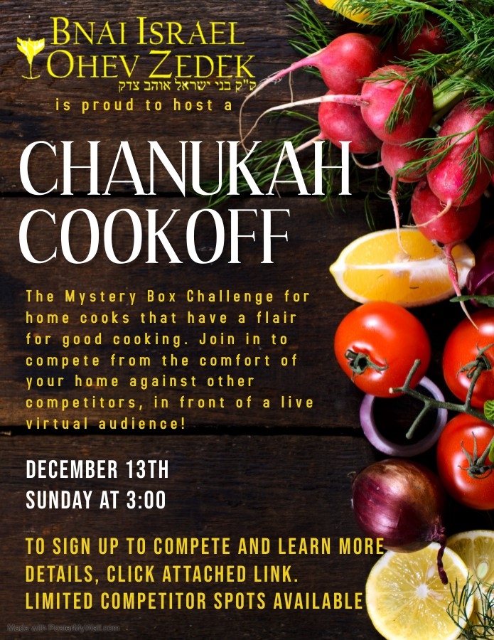 Chanukah Cookoff